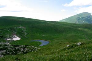 Озеро Псено-  Дах