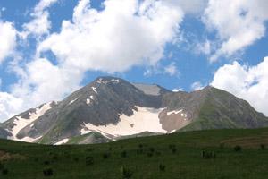 Гора Оштен  2804 метра